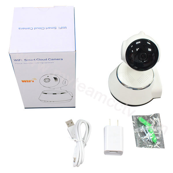 Two-Way Intercom P/T 720p Webcam Wireless WiFi Smart Cloud IP Camera (H100-Q6)