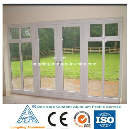 Aluminium White Doors and Windows Designs in China