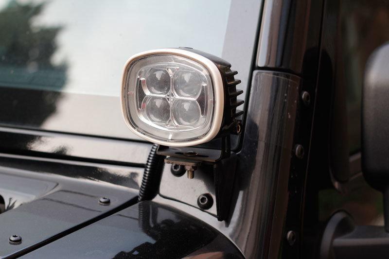 Markcars a Pillar Flood Spot Beam Retrofit LED Work Light