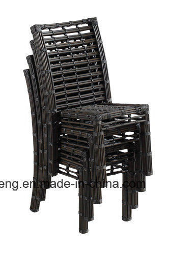 Big Synthetic Round Rattan Outdoor Garden Furniture Set with Table & Chair (YTA607&YTD607-1)