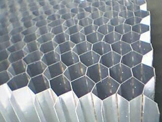 China Honeycomb Aluminium Core For Door Filler China