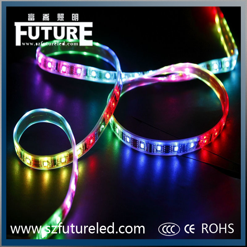 Waterproof RGB LED Strip Light with CE&RoHS &CCC