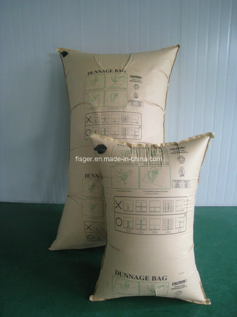 Paper Dunnage Air Bag for Transport Protection