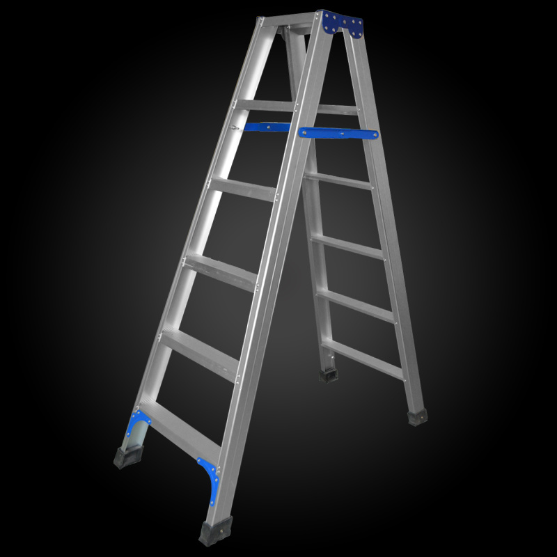 A Model 2*10 Step Foldable Aluminum Scaffolding Ladder