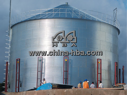 1000-5000t Grain Storage Steel Silo