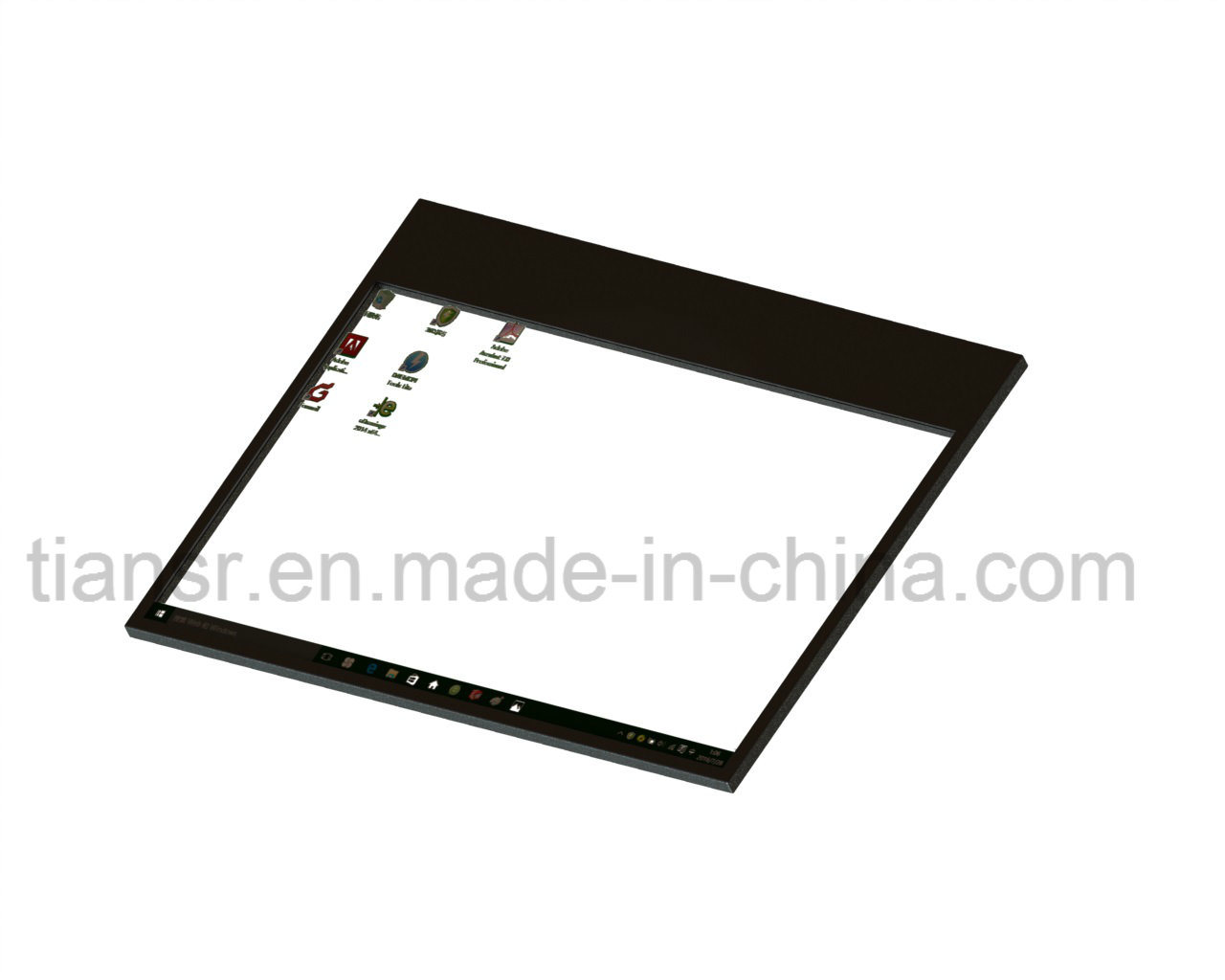 22 Inch Transparent Display with Easy Install Design