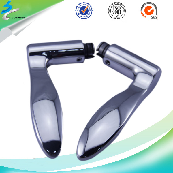 Investment Casting Stainless Steel Lever Door Handle in Door Hardware