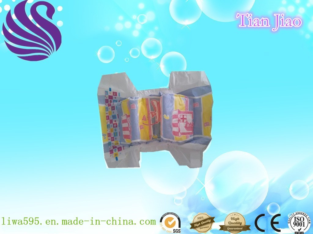 Quick Absorbent Happy Baby Diaper with Super Softness in Quanzhou