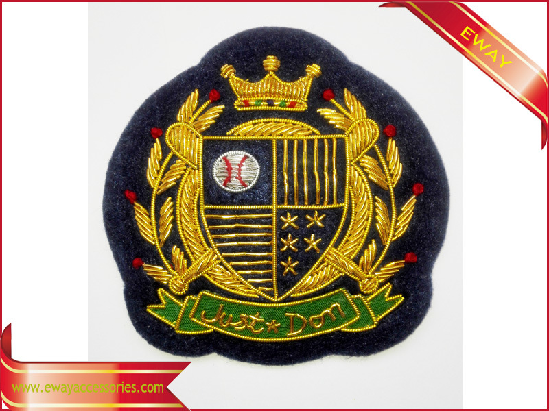 Garment Embroidery Patch Shirt Decal Woven Patch