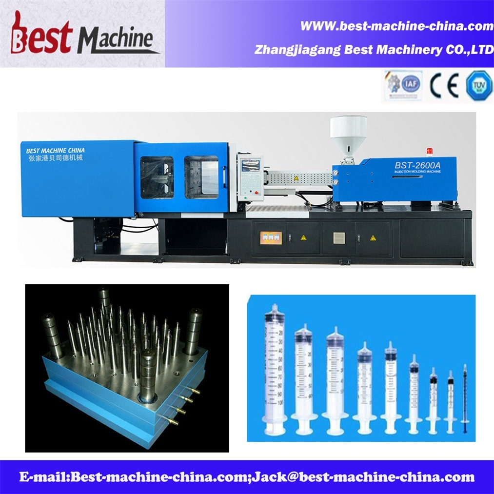 High Quality Medical Syringe Injection Molding Making Machine