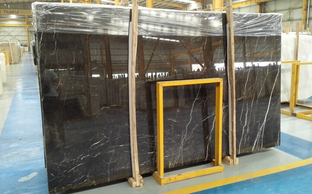 Professional Supplier of St. Laurent/Emperador/Cindy Grey/Nero Marquina Marble Slabs