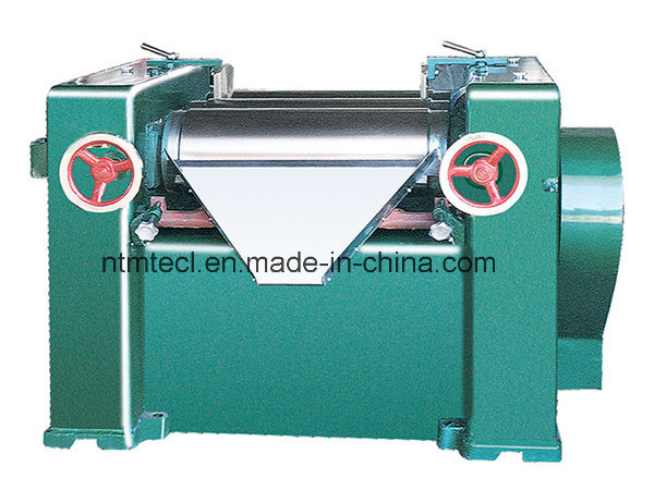 Horizontal Three Roll Mill for Soap Grinding with Water Cooling