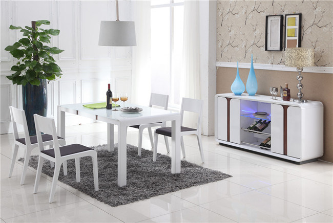 Modern Dining Room Set Dining Table and Chair Series (CT-190+ 73#)