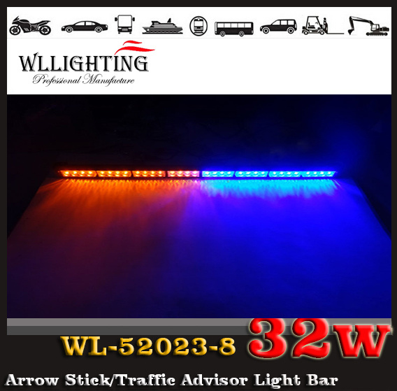 Dual Colors LED Traffic Directional Warning Light