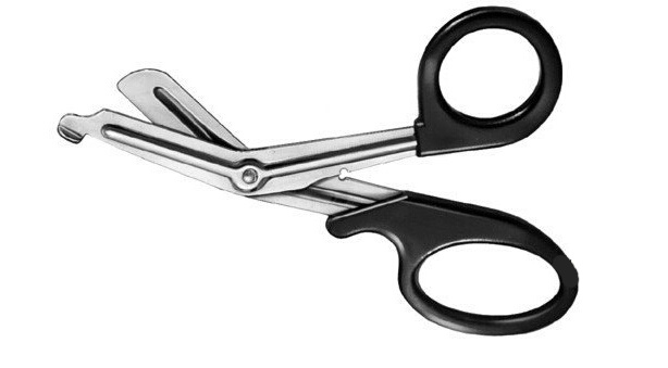 First Aid Bandage Trauma Scissors
