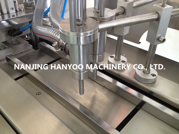 Dpp-88y Automatic Fruit Jam Blister Packaging Machine