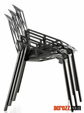 Metal Magis Steel Banquet Stackable Chair One Dining Chair