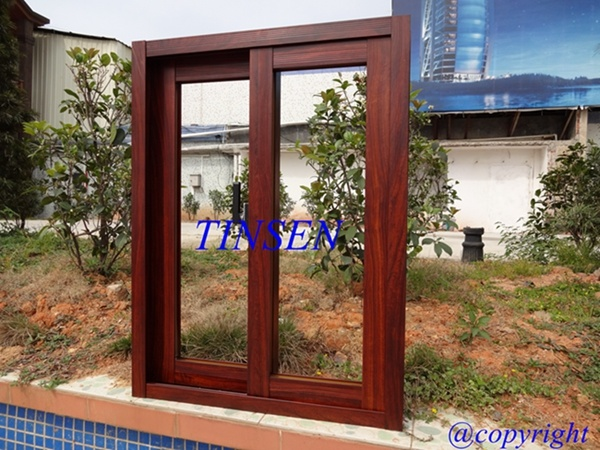 Powder Coated Aluminum Sliding Window
