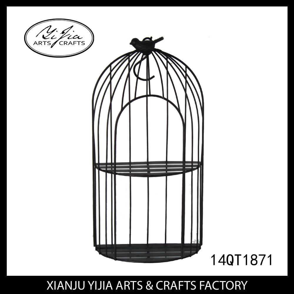 Metal Crafts Bird Cage for Garden Decoration