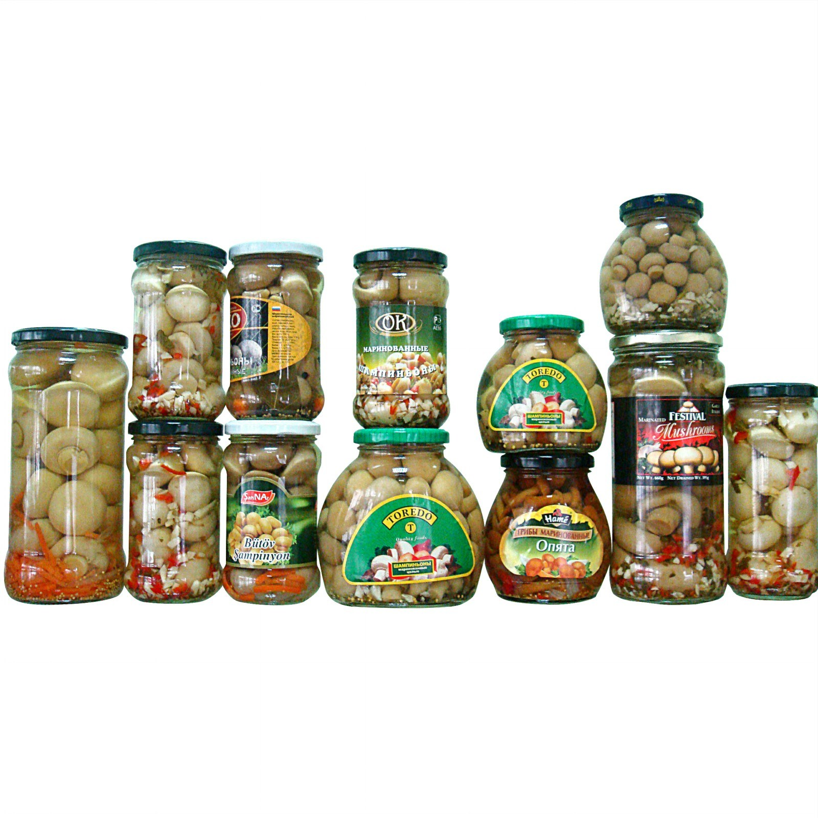 Canned Mixed Mushroom (Marinated) with High Quality