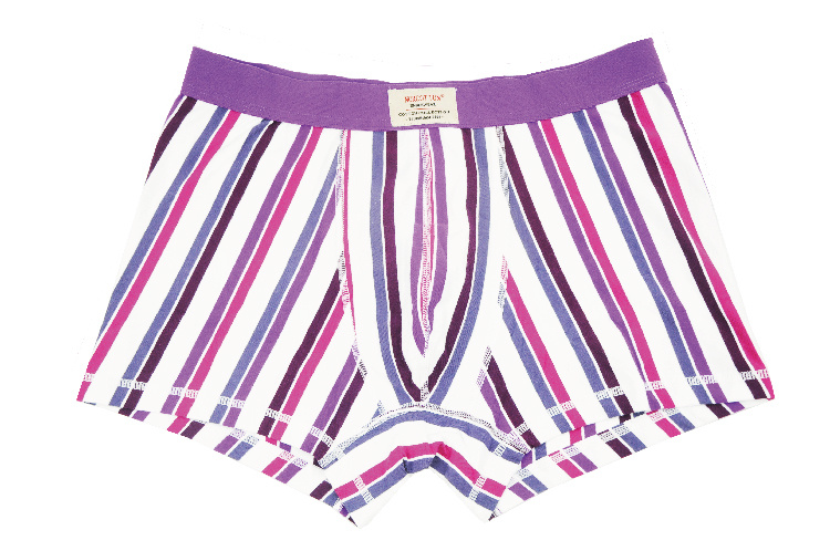 95%Cotton/5%Pendex Men Underwear Boxers Brief Fashion for 251-Purple
