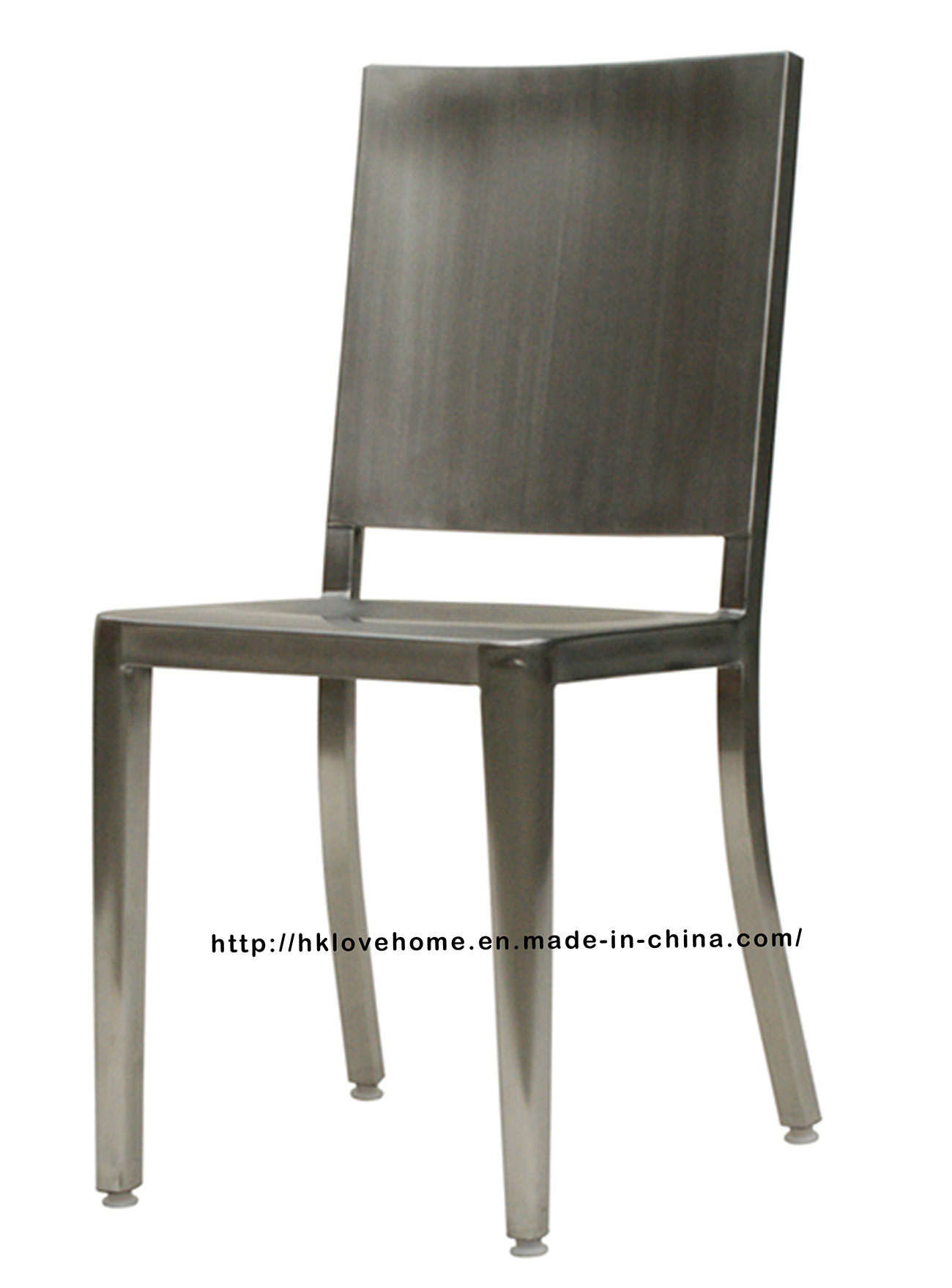 China Replica Emeco Metal Dining Restaurant Coffee Rectangle Back Navy Chair    China Stainless Steel Chair, Chair