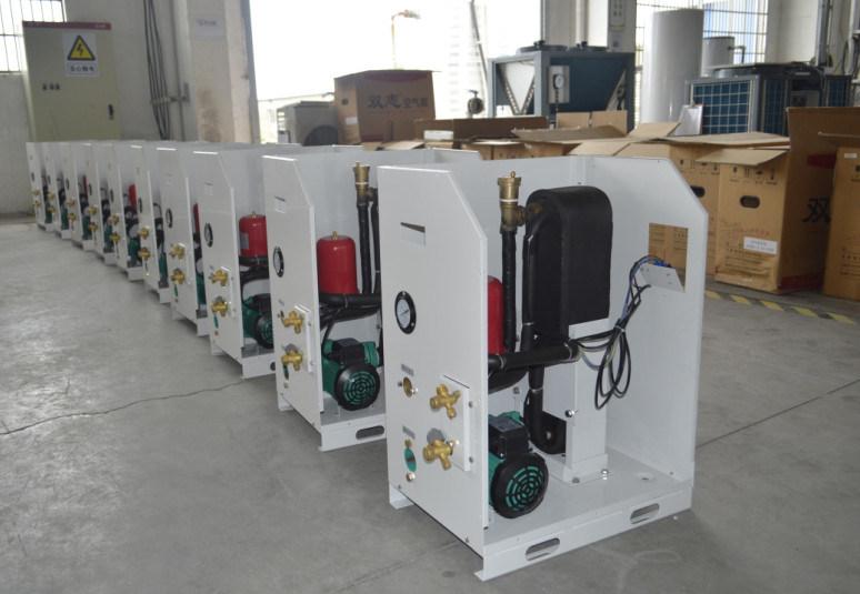 CE, TUV, Australia Certificate 220V R410A 3kw, 5kw, 7kw, 9kw Cop4.2, Max 60deg. C Shower Dhw Tankless Air Water Heat Pump Split System