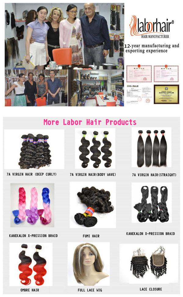 Blonde Brazilian Remy Human Hair Extension, Natural Virgin Hair Braid Lbh 119