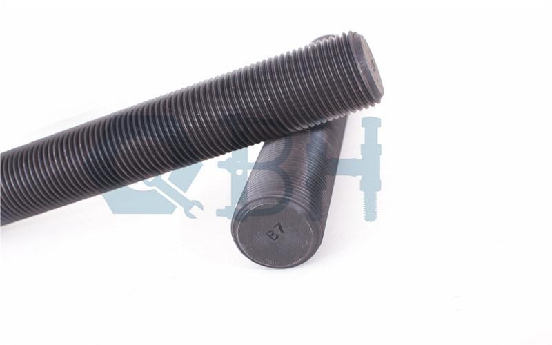 Threaded Rods (3/8′-4′ Plain ASTM A193 B7)