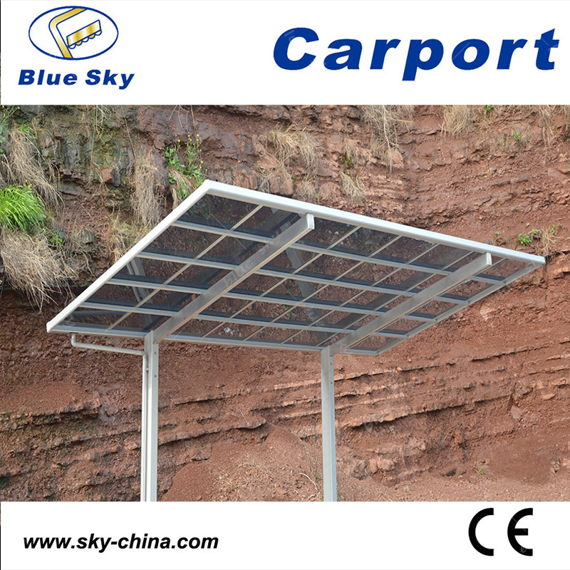 Hot Sale Durable Steel Caport with Polycarbonate Roof (B800)