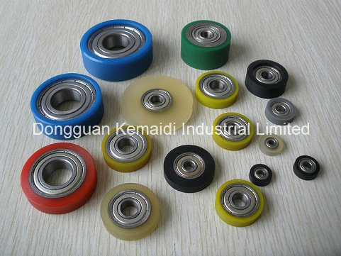 Rubber Attached Bearing for Sliding Door