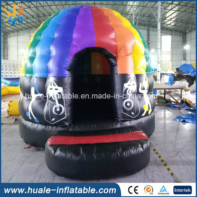Newest Family Fun Disco Dancing Dome Inflatable Tent for Party