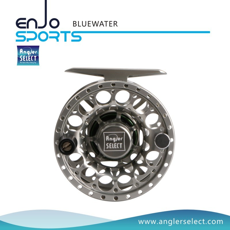 CNC Fishing Tackle Fly Fishing Reel with SGS (BLUEWATER 7-9)