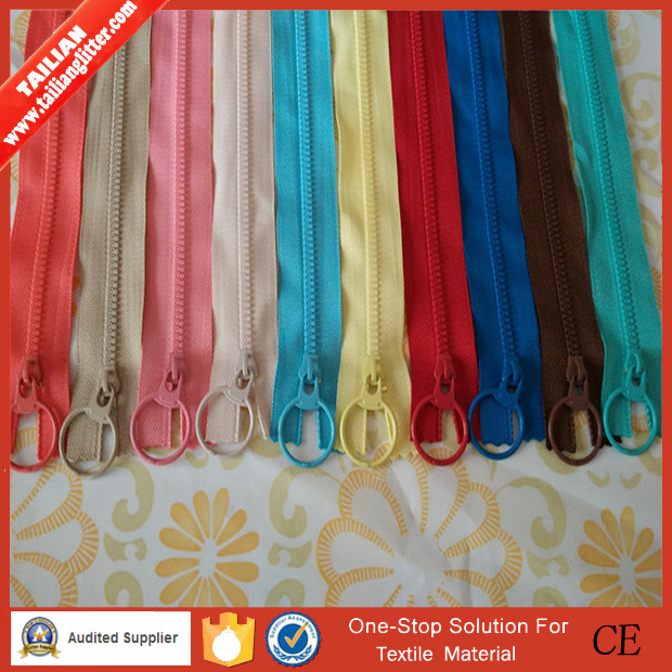 3# Good Quality Open End Manufacturer Resin Zipper