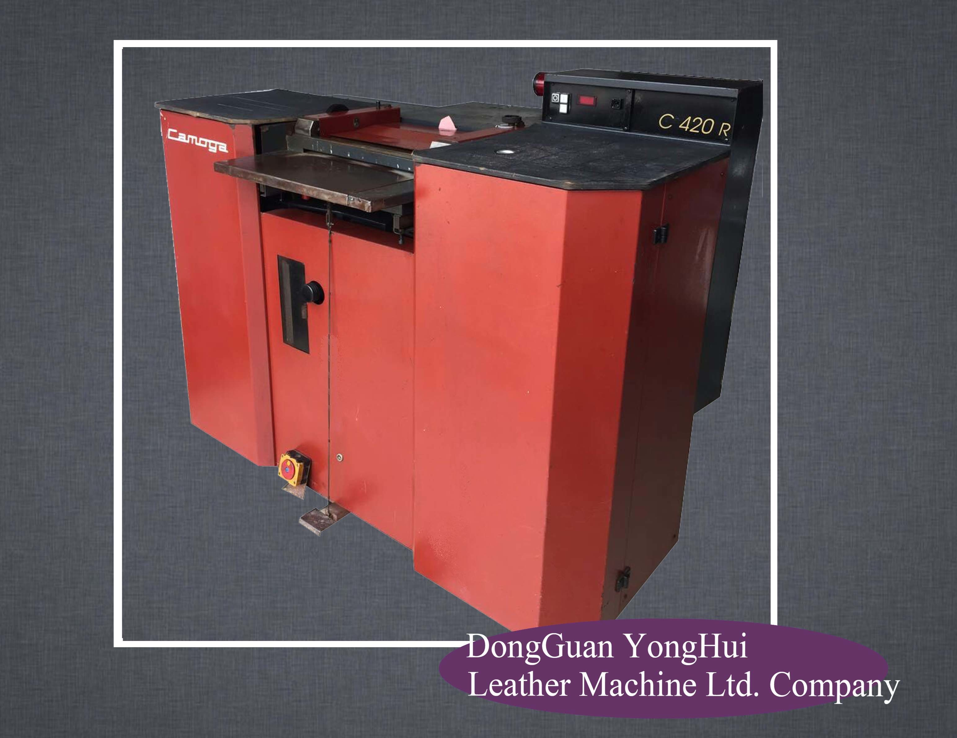 Reconditioned Italy Camoga Band Knife Leather Splitting Machine (C420R)