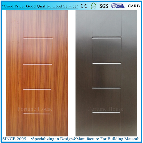 New Design Decorative Interior/Exterior HDF Melamine Door Skin