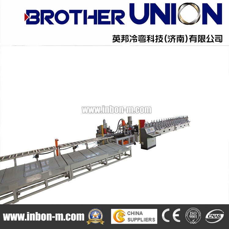 The Trough Type Cable Bridge Roll Forming Machine