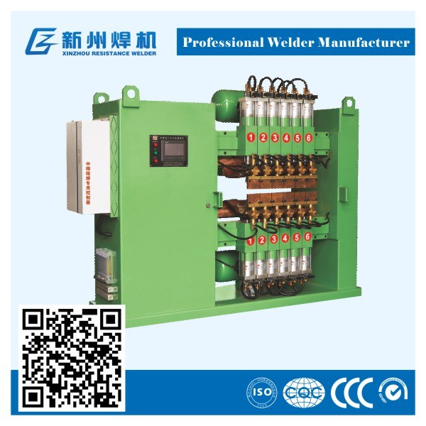 Intermediate Frequency Condenser & Evaporator Row Welding Machine
