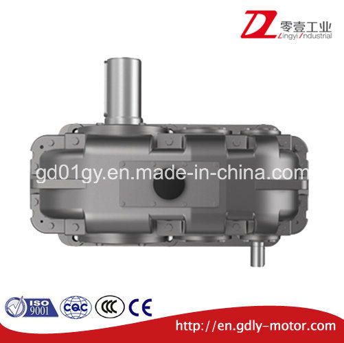 Double Stage Reduce Speed Parallel Shaft Hardened Cylindrical Gear Box