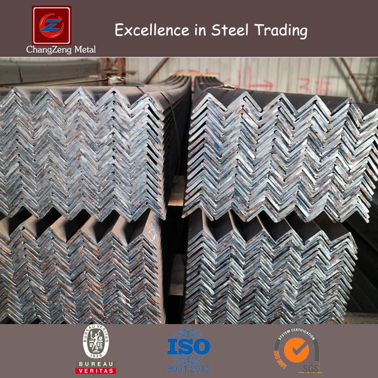 Mild Steel Angle Bar Flat Bar for Building / Bridge (A36)