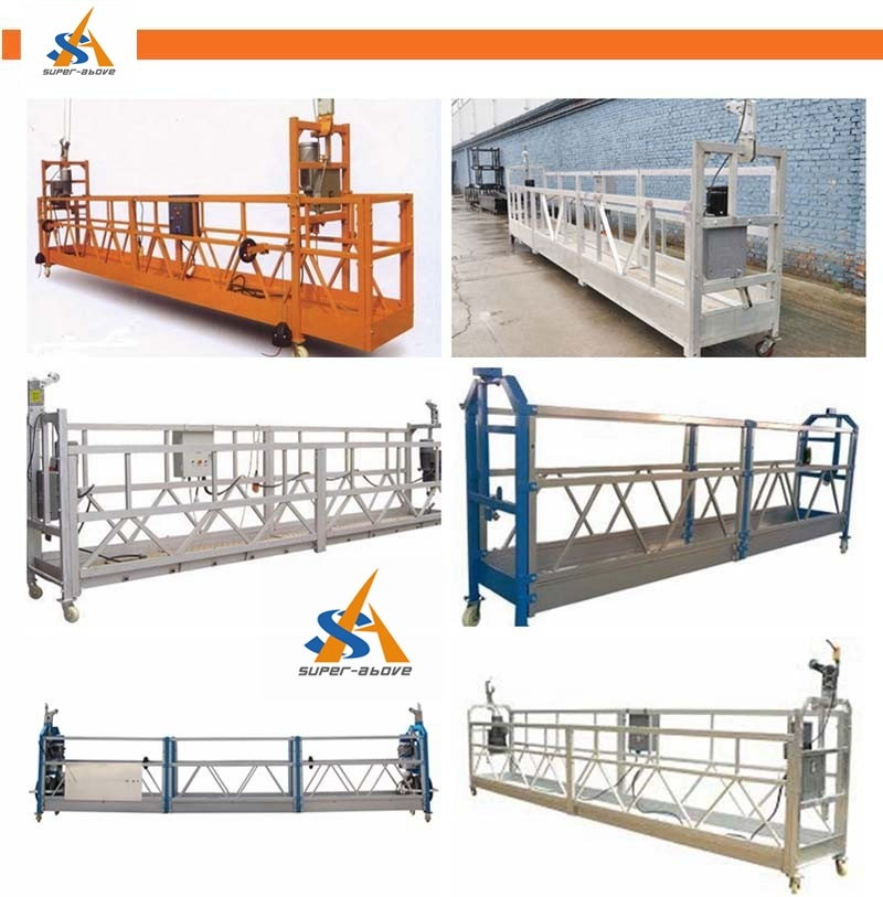 Building Construction Suspended Working Platform