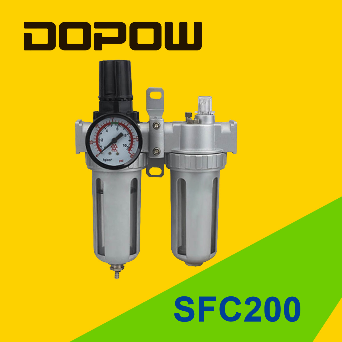 Dopow Sfc 200 Air Combination Two Units Filter Lubricator