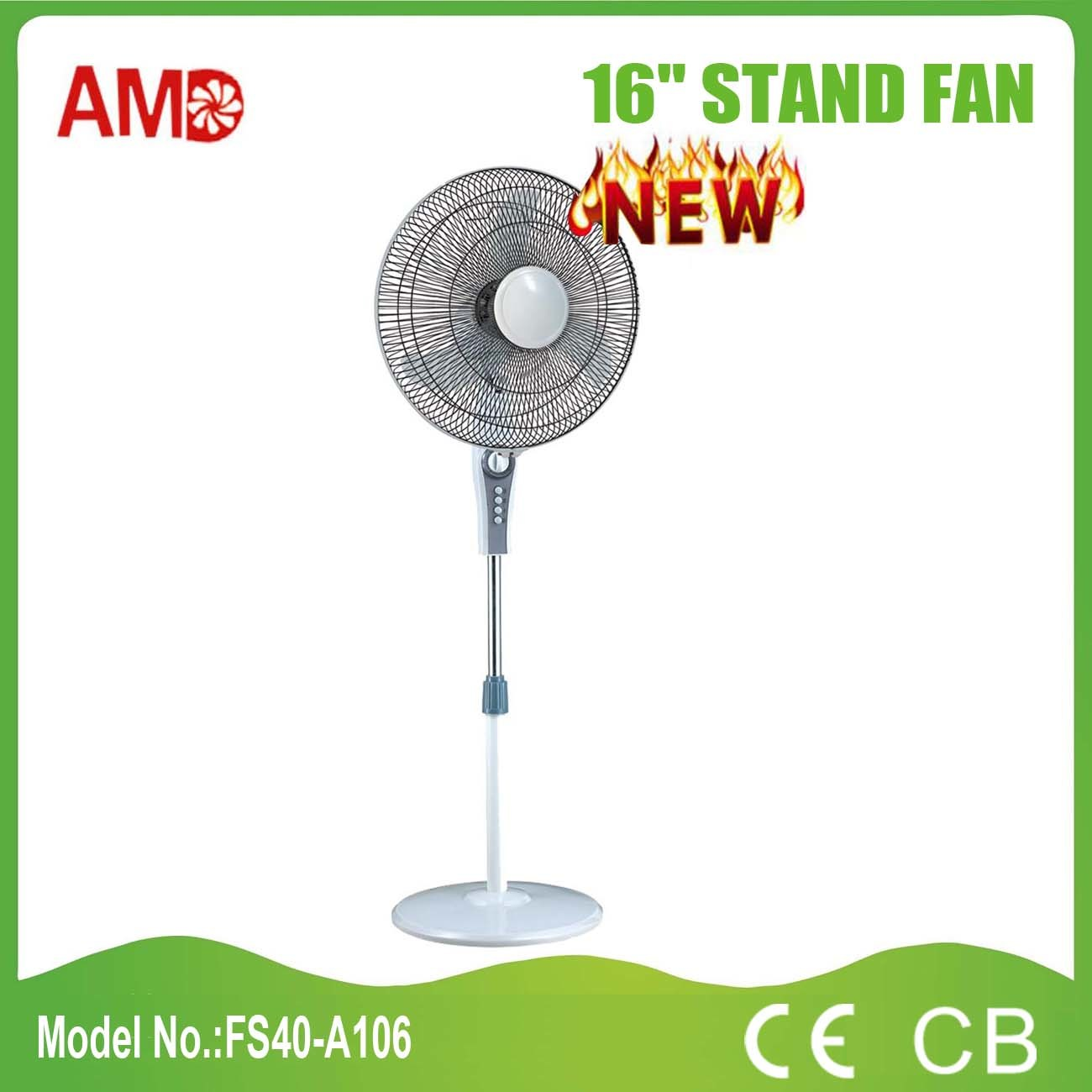 2016 New Design Stand Fan with CE Approved (FS40-A106)