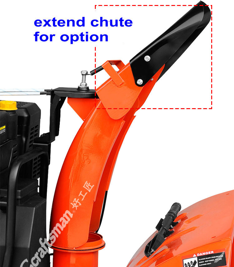 "420cc 34"" Snow Engine 2 Stage Chain Drive Snow Thrower"