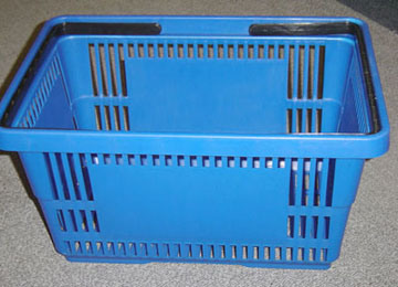 New Shopping Basket of Supermarket Equipment