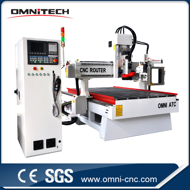 4*8FT Woodworking CNC Router with Automatic Tool Changer