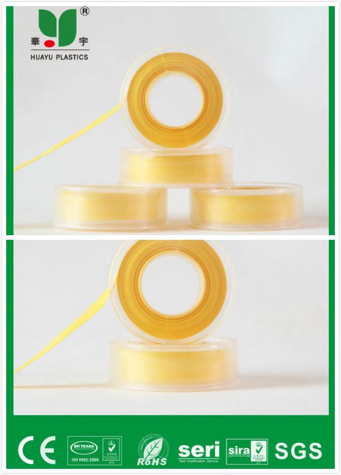 Color Teflon Tape with Transparent Spool
