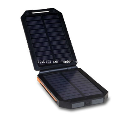 6000mAh Three Output Mobile Multi Solar Charger (SGY54BH)
