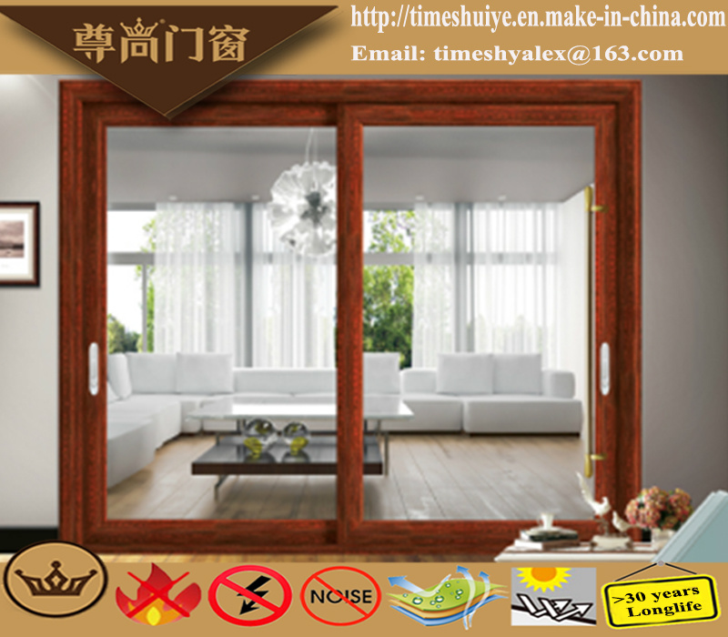 China Factory Aluminum Sliding Doors with Auminium Profile