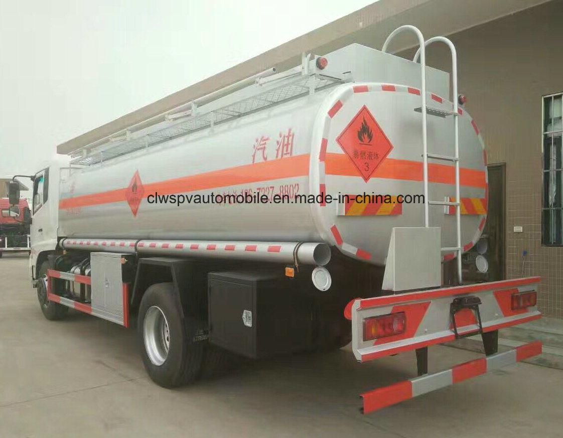 10 Tons to 12 Tons Fuel Tank 13cbm 15cbm Fuel Tanker Truck for Sale